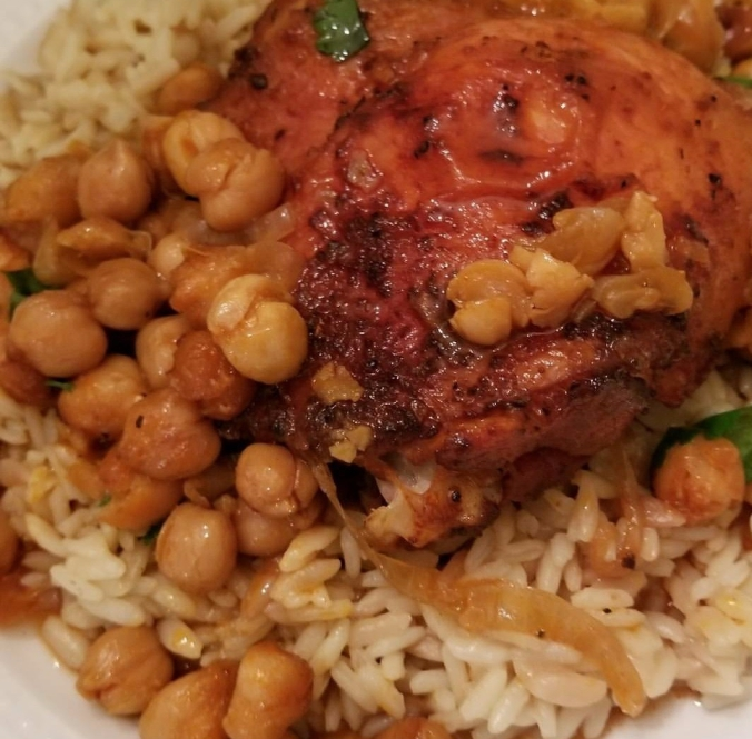 chicken with chickpeas